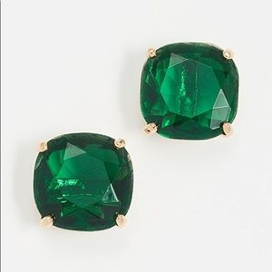 Kate Spade Emerald Stud Earrings 14k Gold